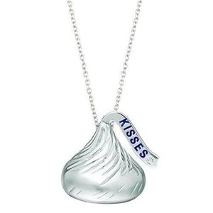 Jewelry - Sterling Silver Diamond Accent Hershey's Kisses
